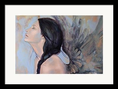 Angels Art Framed Prints