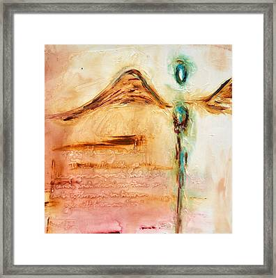With Compassion Framed Print