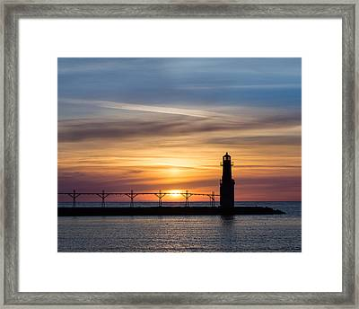With Ease Framed Print