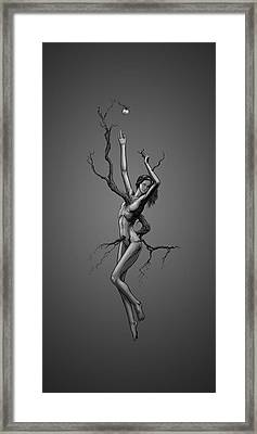 With Fear Before Framed Print by Derrick Ravey