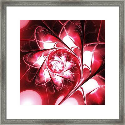 With Love Framed Print by Anastasiya Malakhova