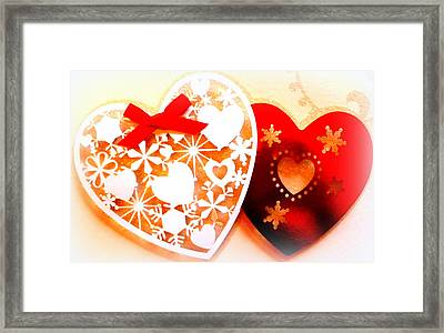 ...with Love Framed Print by The Creative Minds Art and Photography