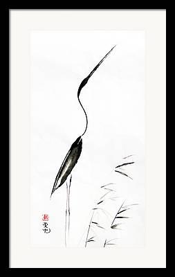 Rice Paper Framed Prints