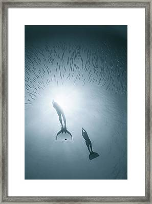 With Nature As One Framed Print