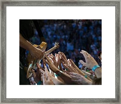 With These Hands Framed Print by Jeff Ross