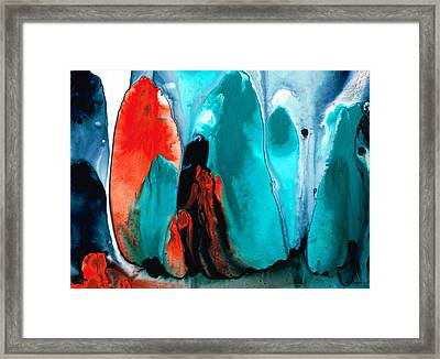 With You Always - Spiritual Painting Art Framed Print by Sharon Cummings