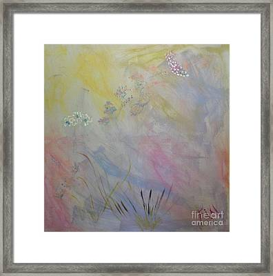 Withered Kansas Summer Framed Print by PainterArtist FIN