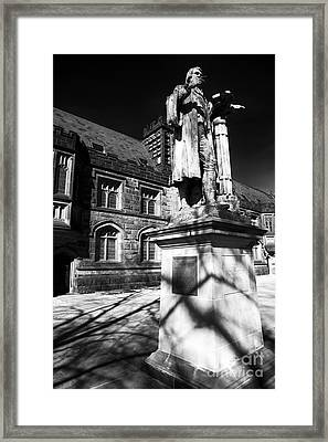 Witherspoon At Princeton Framed Print by John Rizzuto