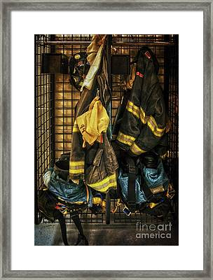 Framed Print featuring the photograph Within A Brotherhood You Never Walk Alone by Debra Fedchin