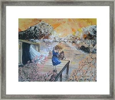 Within A Dream Framed Print