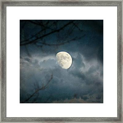 Within Her Misty Veil Framed Print