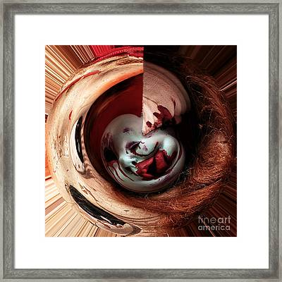 Within Me Framed Print by John Rizzuto