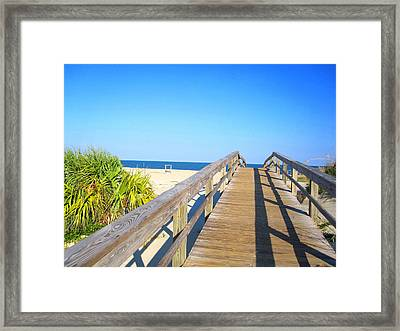 Within Sight Framed Print by Crystal Roberts