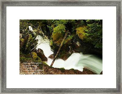 Within The Crescendo Framed Print