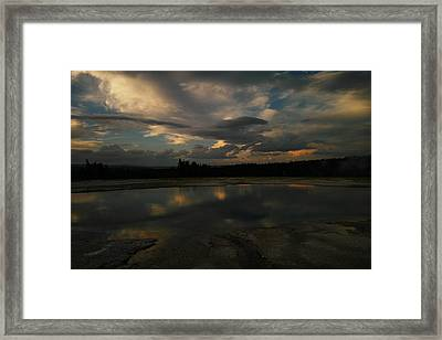Within The Moment Of A Moment Framed Print by Jeff Swan