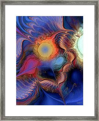 Framed Print featuring the digital art Within You And Without You by Casey Kotas