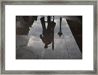 Without Borders Framed Print by Julia Moral