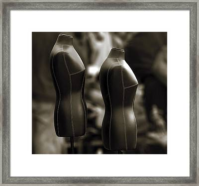 Without Clothes Framed Print by RicardMN Photography
