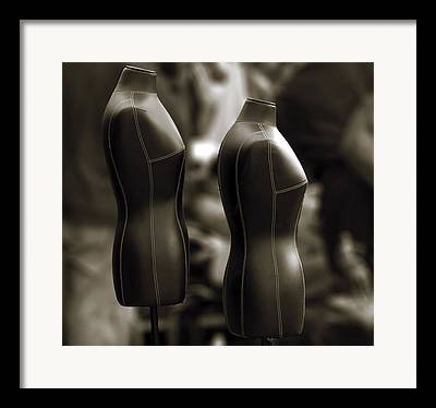Without Clothes Framed Prints