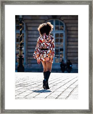 Without Comment Framed Print