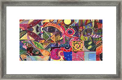 Without Definition - The Joy Of Design Series Compilation Framed Print by Helena Tiainen