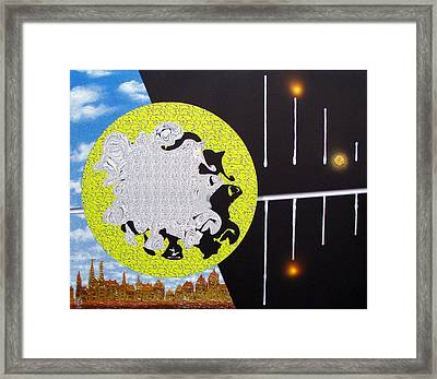 Without Focusing Xiii. Framed Print by Tautvydas Davainis