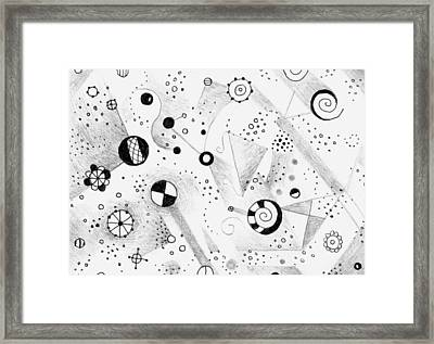 Without Gravity Framed Print by Helena Tiainen
