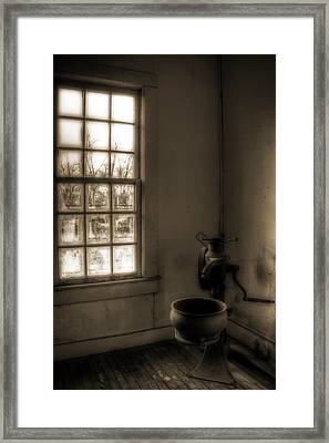 Without Framed Print by Mark Alder