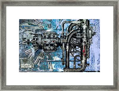 Without Pointer No Time? Framed Print