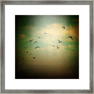 Without Framed Print by Taylan Apukovska