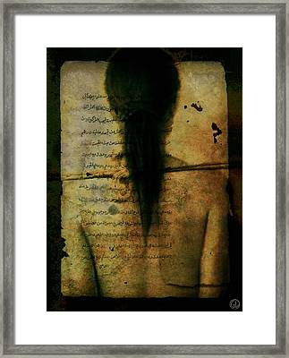 Without Understandable Manual Framed Print by Gun Legler