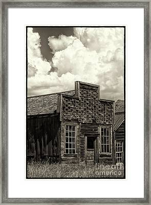 Withstanding The Years Framed Print by Sandra Bronstein