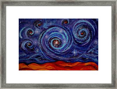 Witness Framed Print by Kathy Peltomaa Lewis