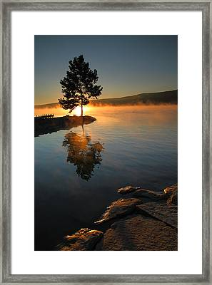 Witness To The Dawn IIi Framed Print