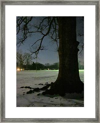 Witnesses Of Change Framed Print by Guy Ricketts