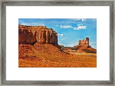 Witnesses Of Time Framed Print by Hanny Heim