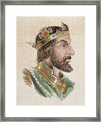 Wittiza (687-709 Framed Print