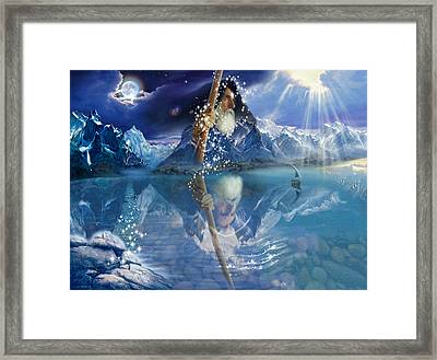Wizard Framed Print by Andrew Farley