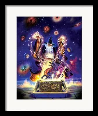 Conjuring Framed Prints