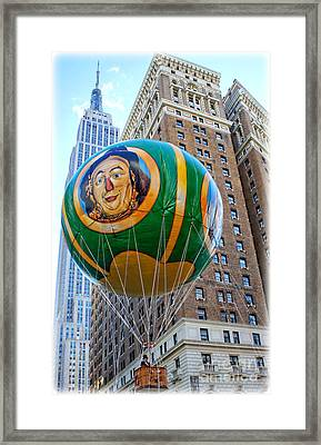 Wizard Of Oz In New York  Framed Print