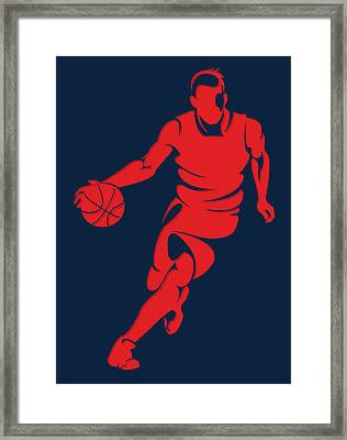 Wizards Basketball Player3 Framed Print