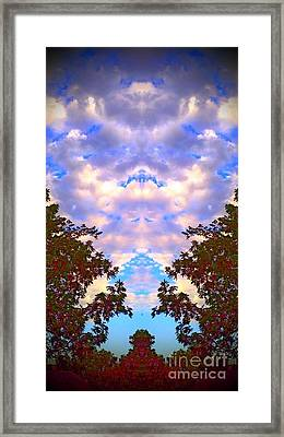 Wizards In The Clouds Framed Print