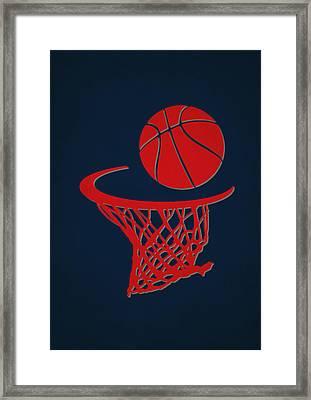 Wizards Team Hoop2 Framed Print by Joe Hamilton