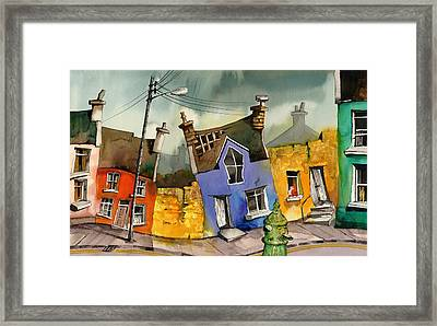 Wobbly Ardgroom In Glorious Technicolour Framed Print