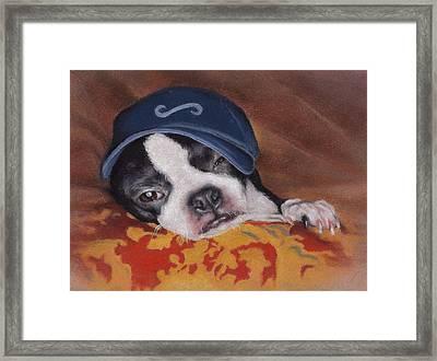 Woe Is Me Framed Print by Pamela Humbargar