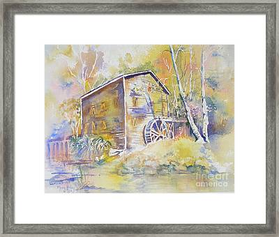 Wolf Creek Grist Mill Framed Print