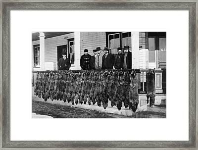 Wolf Hunters, C1913 Framed Print by Granger