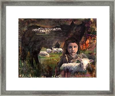 Wolf In Sheep's Clothing Framed Print