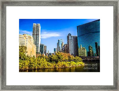 Wolf Point In Chicago Framed Print by Paul Velgos