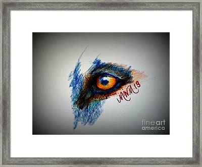 Wolf Sees Digital Framed Print